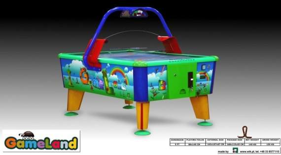 AIR HOCKEY GAMELAND 5FT