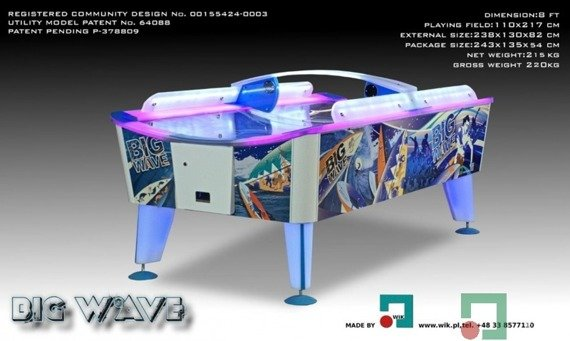 Air hockey Big Wave 8 FT Outdoor