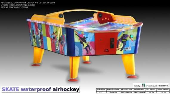 Air hockey Skate Outdoor