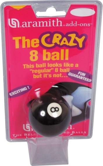 Aramith Crazy 8 Ball, 57,2 mm