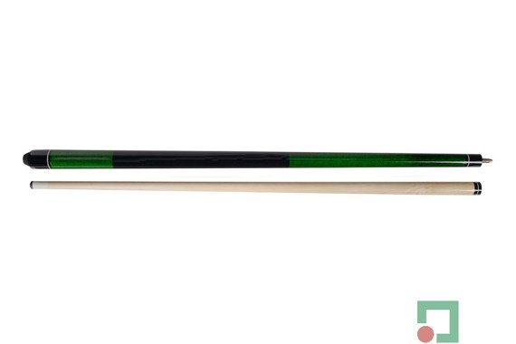 Kij bilardowy 2 cz. First Green 145cm/12mm