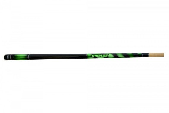 Kij bilardowy 2 cz. Mirage Green 145cm/12mm