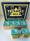 KREDA BILARDOWA TRIANGLE GREEN High Quality - 2 SZT